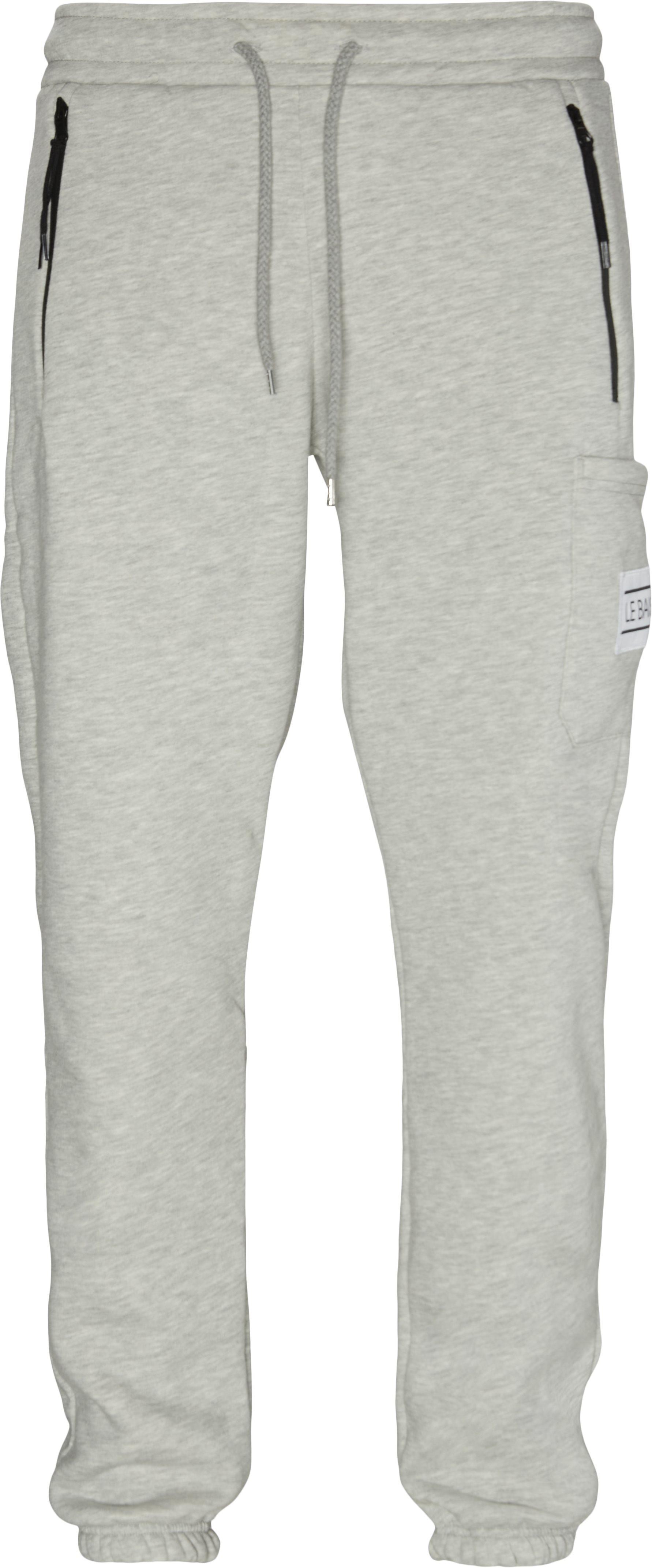 Nationale Sweatpants - Bukser - Regular fit - Grå